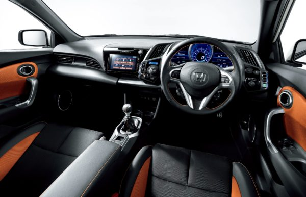 CR-Zの運転席