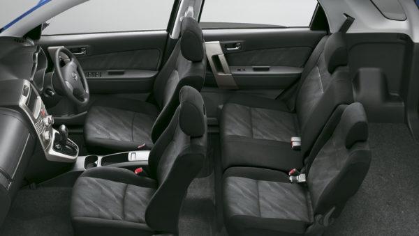 ビーゴの車内空間