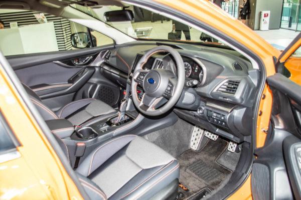 XVの運転席